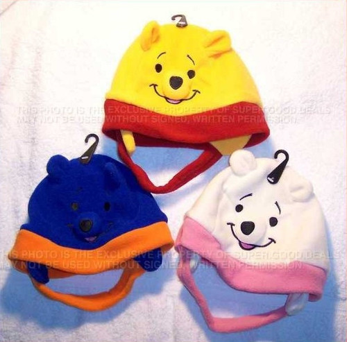 Baby Bear Fleece Toddler Beanie Hat Cap