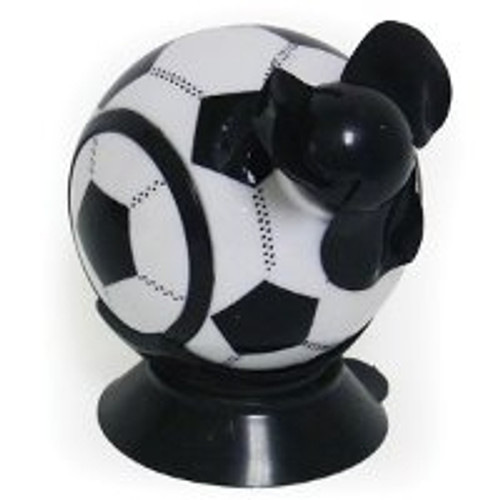 2x Coolbreeze Handheld/ Desk Soccerball Fan W/ Suction Cup (You Get Two of These)