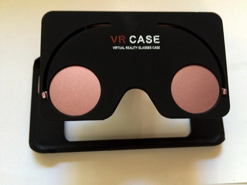 BRAND NEW IN THE BOX Virtual Reality Glasses Rose GOLD CASE FOR 6 &6S (4.7 INCH)
