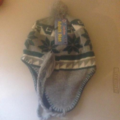 Ladies/ Men Unisex Adult Hat GREEN PERU DESIGN