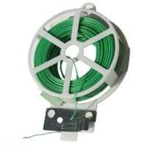 2x 100 Ft Garden Plant Twist Tie Wire with Cutter - Perfect for growing Large Plants (You Get Two of these)