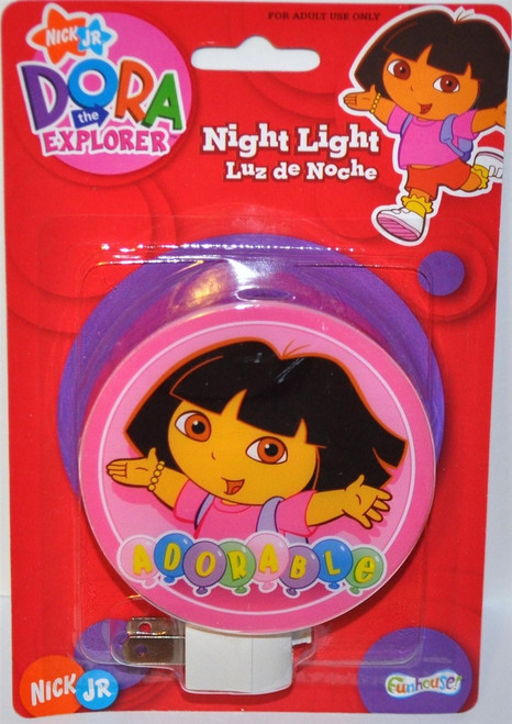 Nickelodeon Nick Jr Dora the Explorer Adorable Night Light