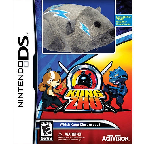 Kung Zhu Nintendo DS with Limited Edition Tull!