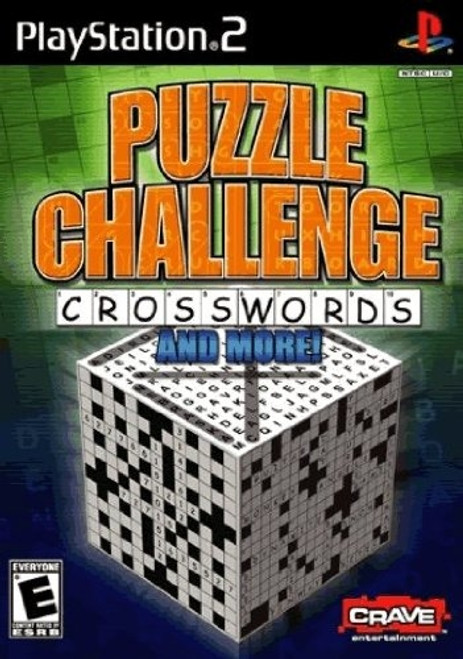 Puzzle Challenge: Crosswords and More! (Sony PS2, 2006) Brand New And Sealed!