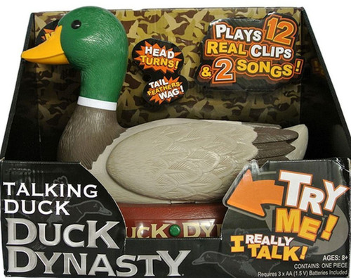 A&e Duck Dynasty Large Talking Duck
