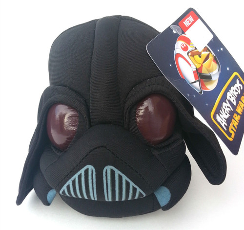 "New Star Wars Angry Birds Darth Vader 8"" Plush Toy Collectable"