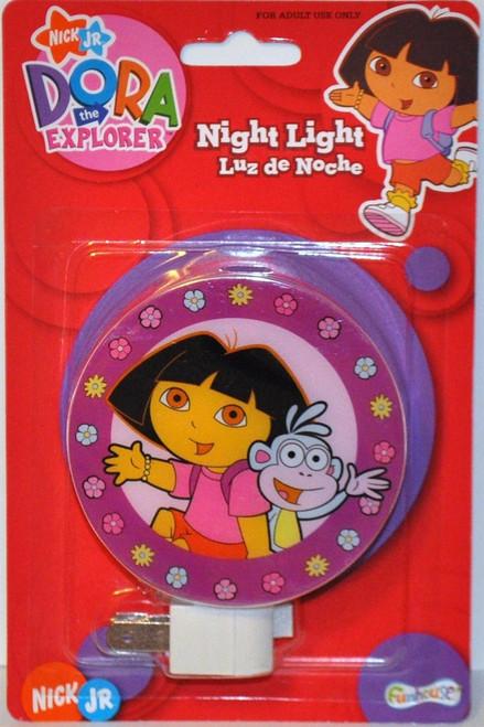 Nickelodeon Nick Jr Dora the Explorer Night Lights W/ boots