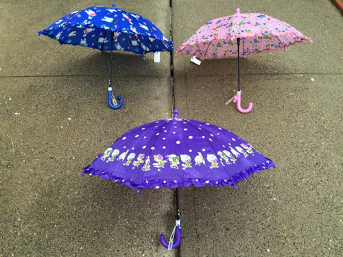 Children Automatic 33'' Umbrellas (Super-Cute First Umbrella For Your Child With A Fun Safety Whistle)