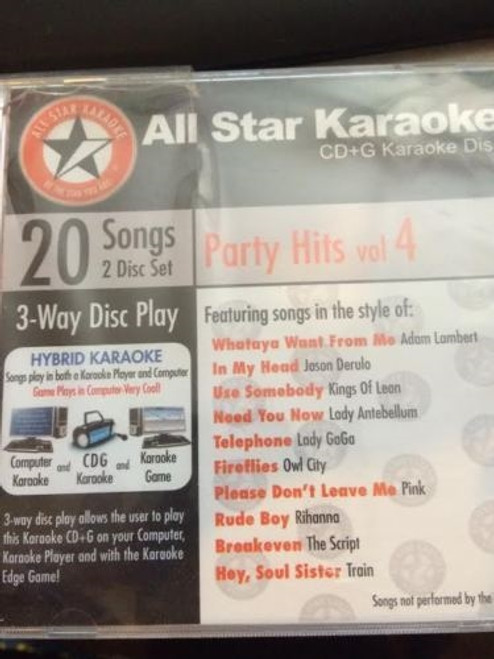All Star Karaoke Cd Plus