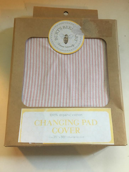 Burts Bee Changing Pad Cover 25x30