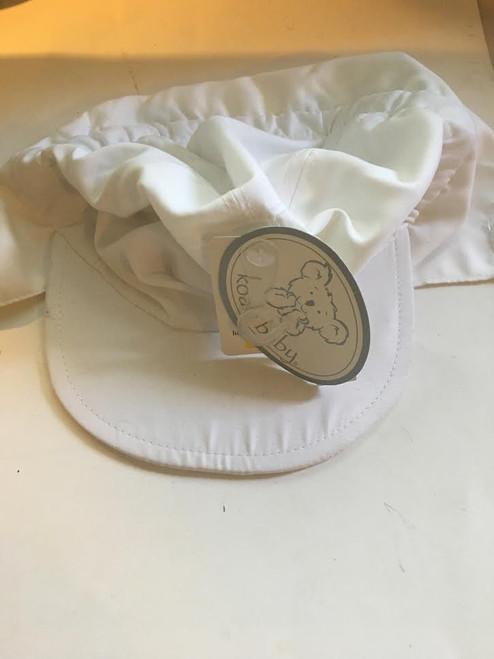 White Swimming Hat