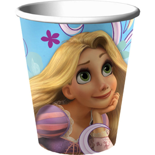 Pack of 8 Tangled Cups