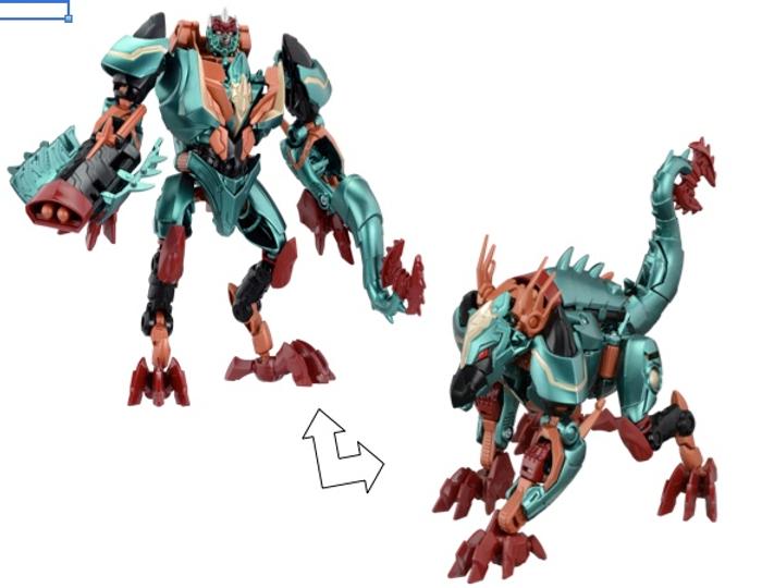 Transformers GO! - G04 Gaidora (Takara)