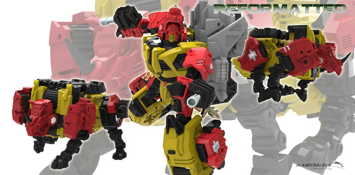 Reformatted 05 - R-05 Fortis the Ground Assaulter (Feral Rex)