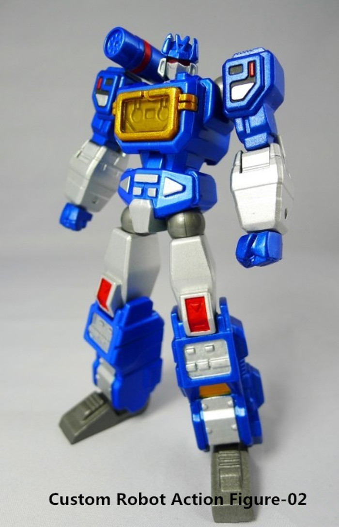 Custom Robots - Revoltech Soundwave
