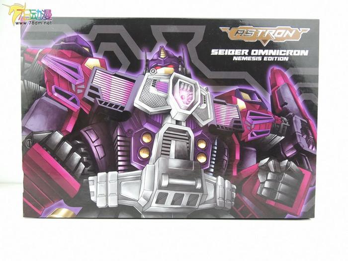 AC Toys - Astron Seiger Omnicron Nemesis Edition