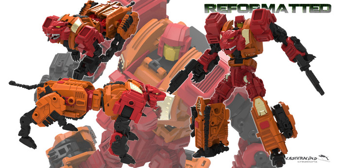 Reformatted 06 - R-06 - Tigris the Shock Trooper (Feral Rex) - Restock!