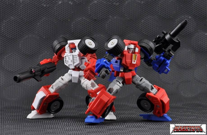 Maketoys - Manga Mech - Trash-Talk and Cogwheel