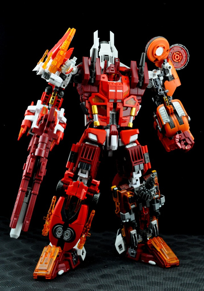 Maketoys - Quantron Combiner Set of 5