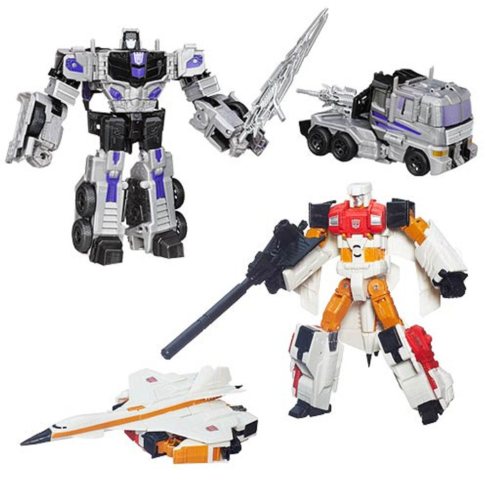 Transformers Generations Combiner Wars Voyager Wave 2 - Set of 2