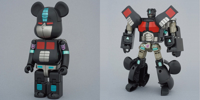 Bearbrick - Transformers Figure - Nemesis Prime