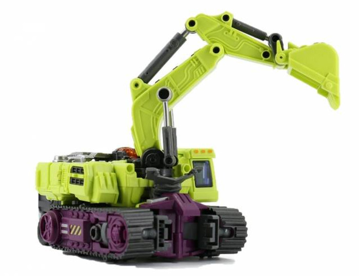 Generation Toy - Gravity Builder - GT-01C Excavator