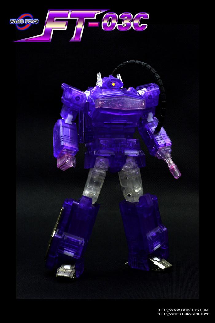 Fans Toys - FT-03C Purple Quake Wave Clear Version - LE500