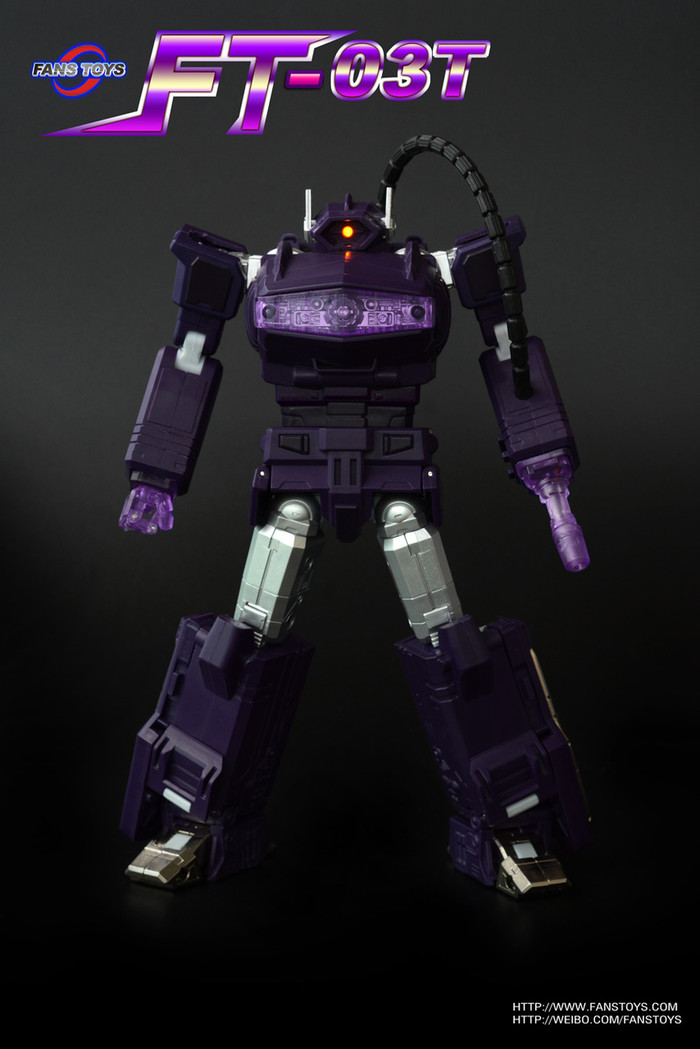 Fans Toys - FT-03T Purple Quake Wave Recolor Version