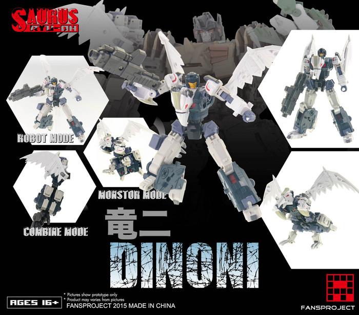 FansProject - Saurus Ryu-Oh: Dinoni