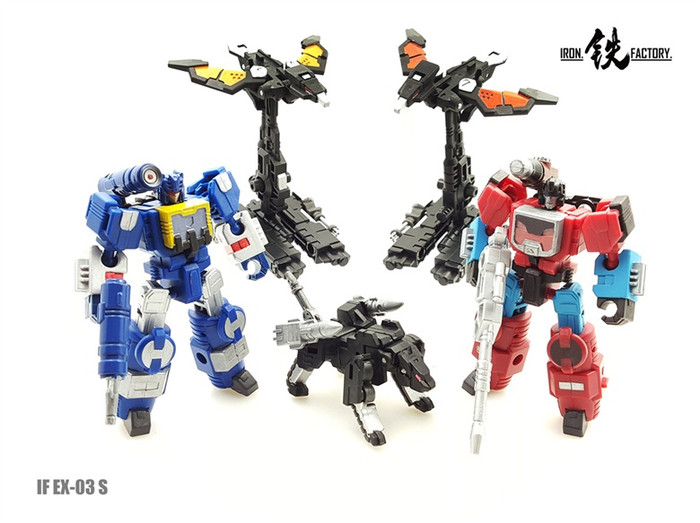 Iron Factory - IF-EX03S Set of 5