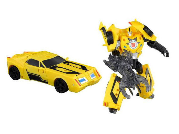 Transformers Adventure - TAV40 Ironjam & Bumblebee