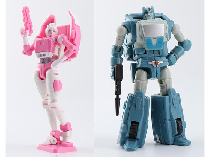 DX9 - War in Pocket - X14 Leah and X15 Toufold Set of 2