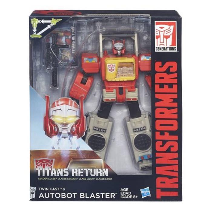 Transformers Generations Titans Return - Leader Class Blaster