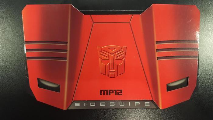 MP-12 Masterpiece Sideswipe Coin