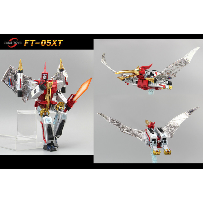 Fans Toys FT-05XT - Red Soar Limited Color Version