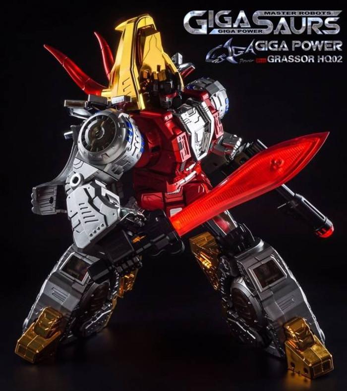 Giga Power - Gigasaurs - HQ02R Grassor - Chrome