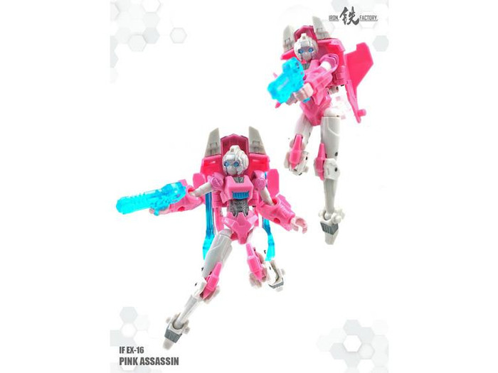 Iron Factory - IF-EX16 Pink Assasin