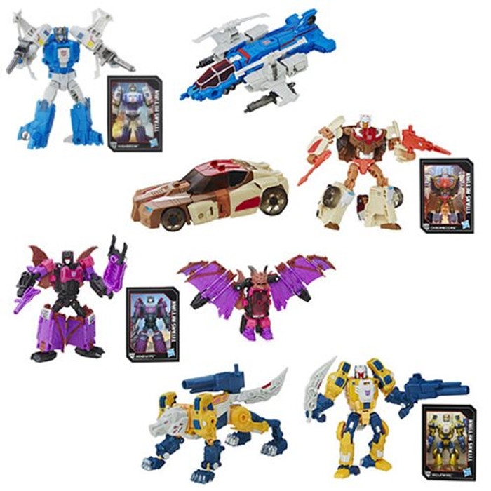 Transformers Generations Titans Return - Deluxe Wave 2 - Set of 4