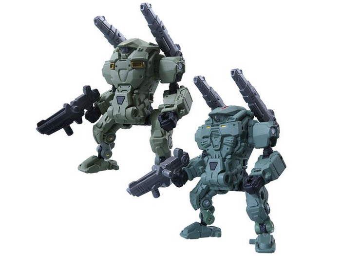 Diaclone Reboot - DA-05 Diaclone Powered System Suit - Cosmos Marines Version Set of 2