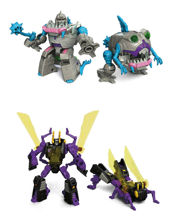 Transformers Generations Titans Return - Legends Class Wave 4 - Gnaw & Kickback