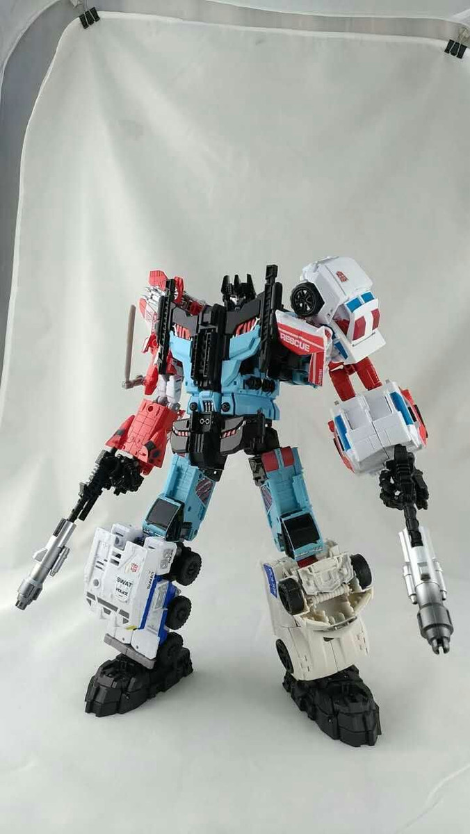 Transform Dream Wave - TCW-02EX Defensor Add-On Set
