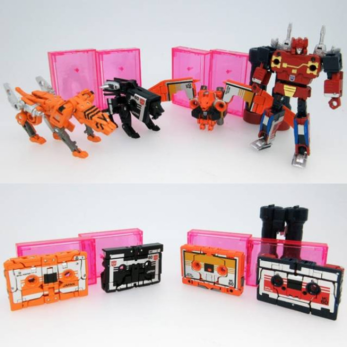 MP-15E and MP-16E  Masterpiece Cassettebot and Cassettetron Set Exlusive