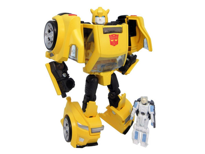Takara Transformers Legends - LG54 Bumblebee & Exo-Suit Spike