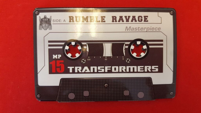 MP-15 Masterpiece Rumble & Ravage Coin