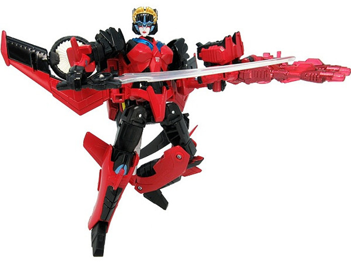 Takara Transformers Legends - LG62 Targetmaster Windblade