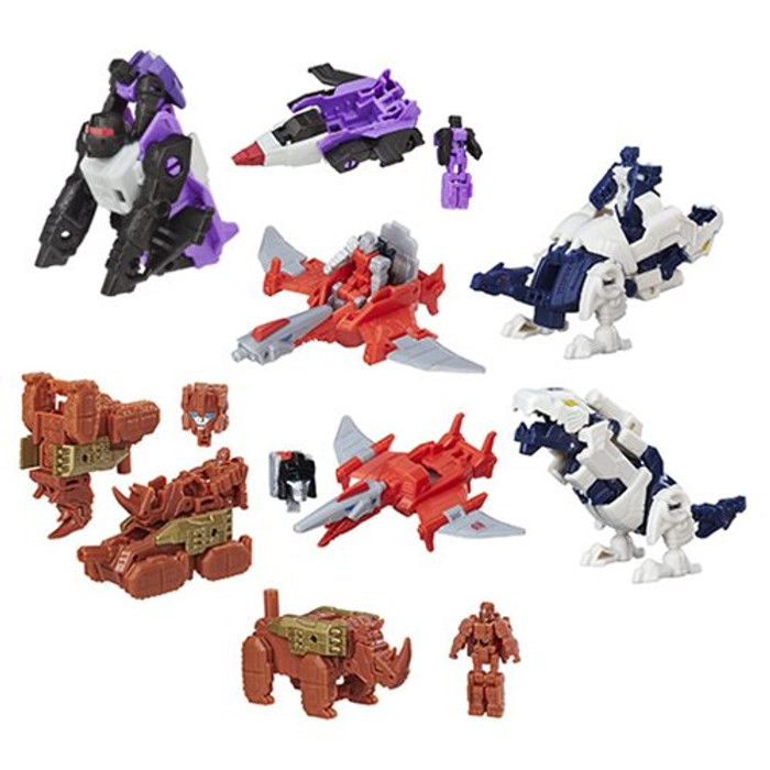 Transformers Generations - Titan Masters Wave 5 - Set of 4