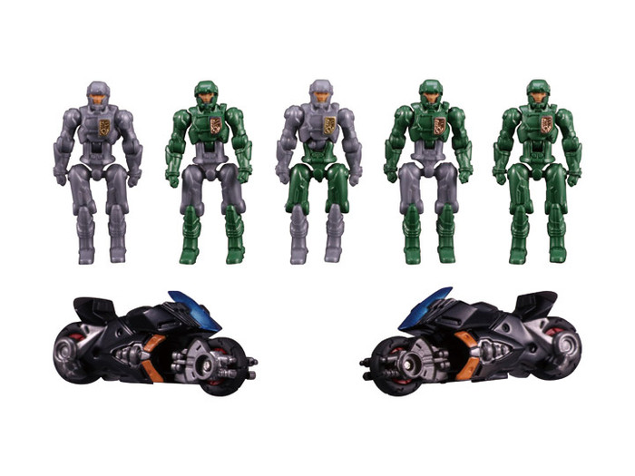 Diaclone Reboot - DA-18 Big Power GV Dia-Nauts Set - I.M.S Version