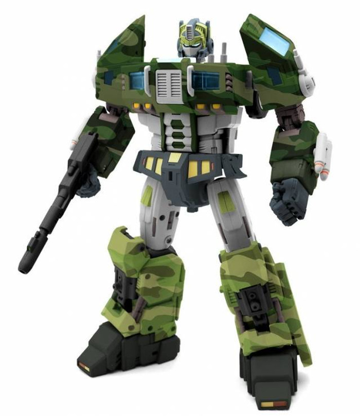 TFC - STC-01A Supreme Techtical Commander (Jungle Version)