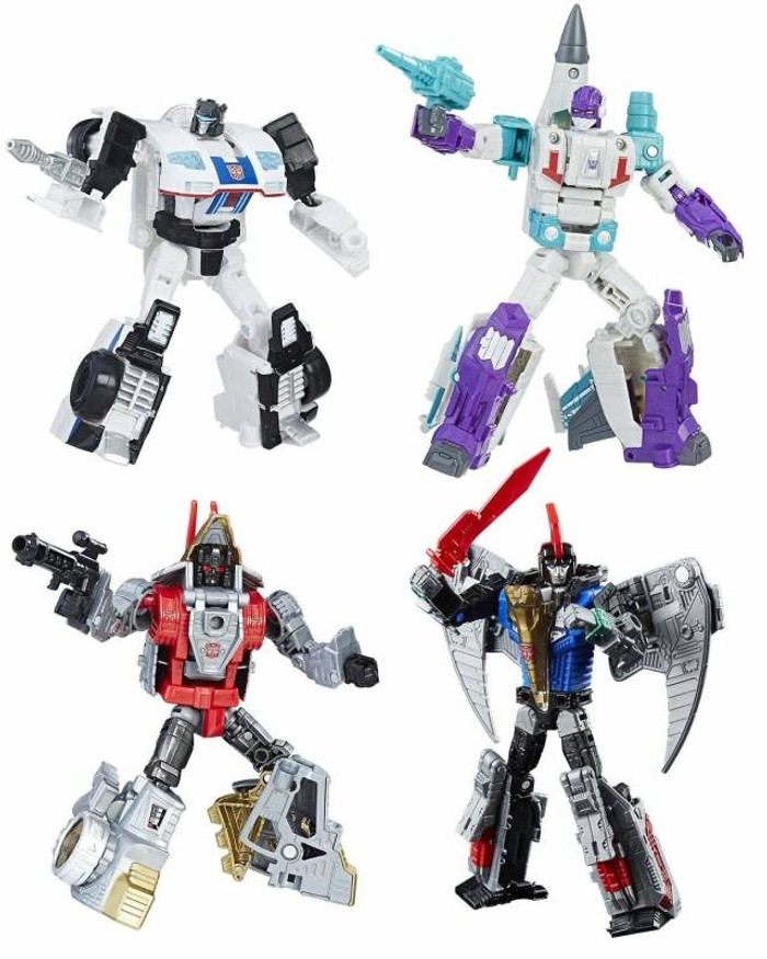 Transformers Generations Power of The Primes - Deluxe Wave 1 - Set of 4
