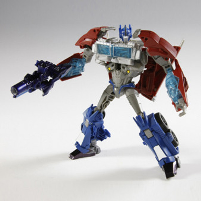 AM-01 Voyager Optimus Prime with Micron Arms